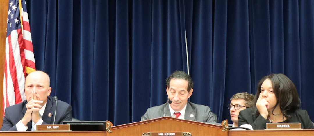 Raskin, activists urge oil industry to admit role in climate change