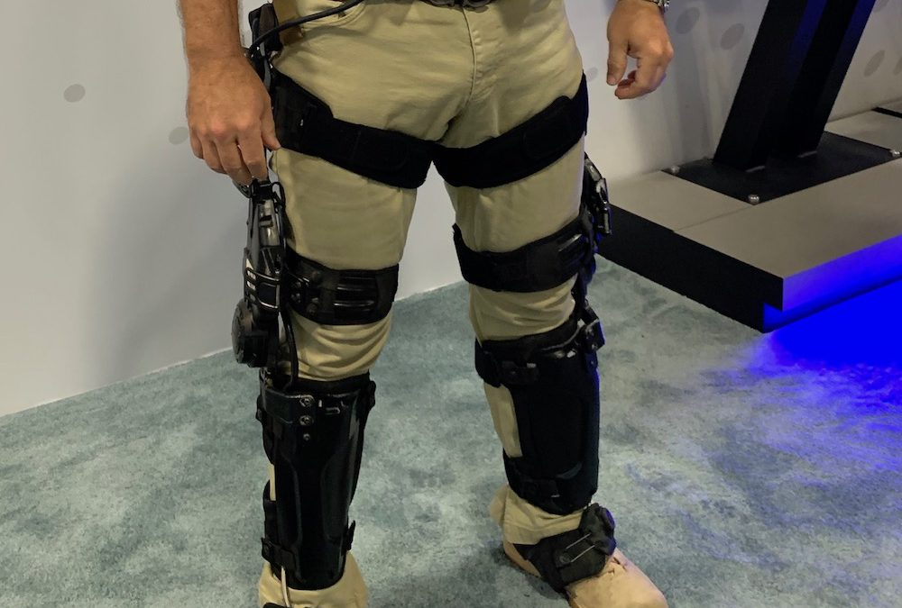 The Army is evaluating a knee brace that aims to make climbing effortless