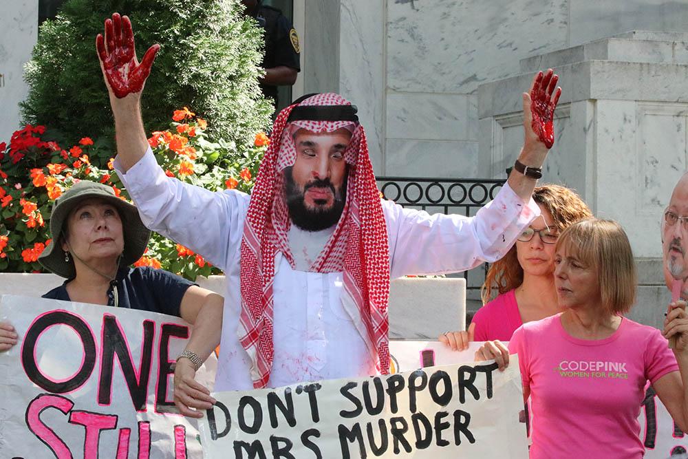 Protestors demand justice on anniversary of Khashoggi's murder