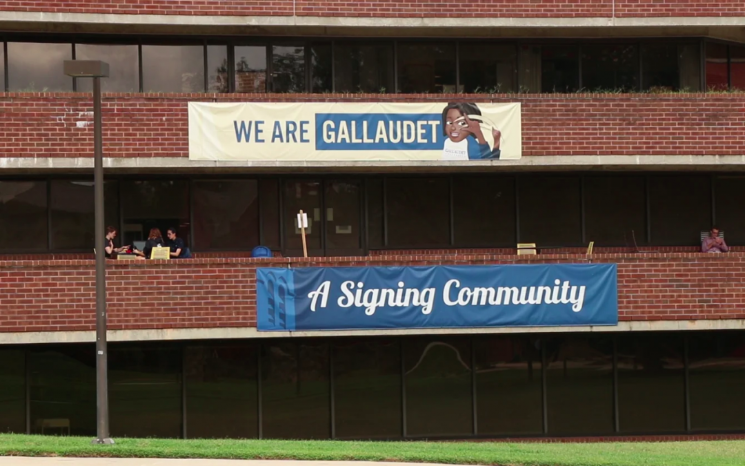 Deaf culture and hearing students at Gallaudet University
