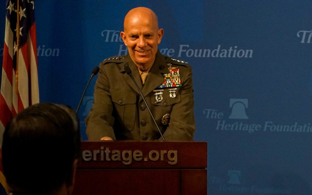 Marine Corps is not ready for coming global power struggle, says Commandant