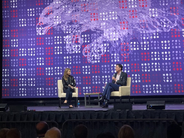 Comey discusses Criminal Probe, Trump, and 2016 with MSNBC's Nicolle Wallace at Politcon 2019