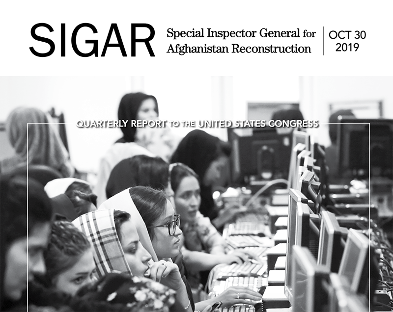 Latest SIGAR report shows increasing civilian casualties in Afghanistan