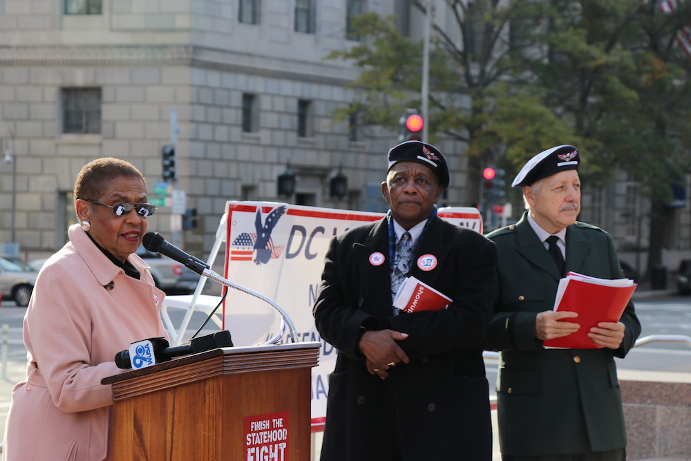 D.C. veterans deserve political rights of statehood, activists say