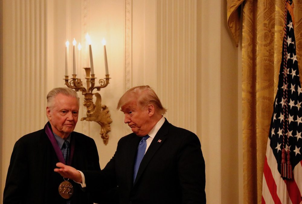 Trump awards arts and humanities medals for the first time