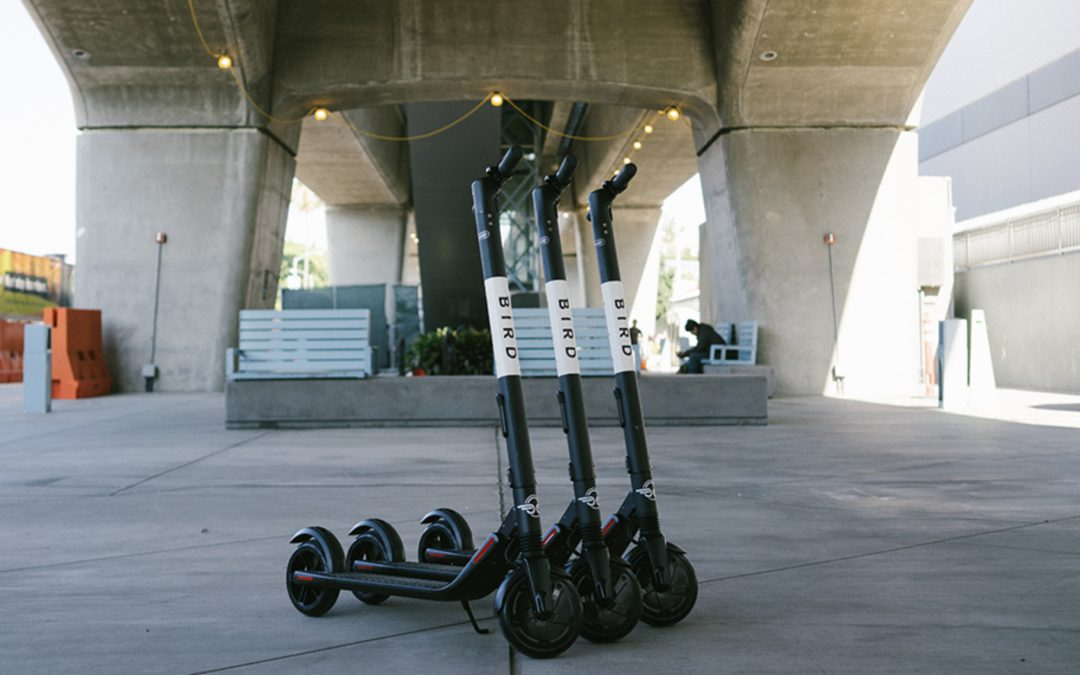 Shared electric scooters explode in U.S., mixing convenience with potential problems