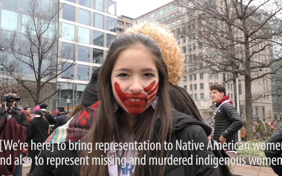 Youth speak up at Women's March Washington