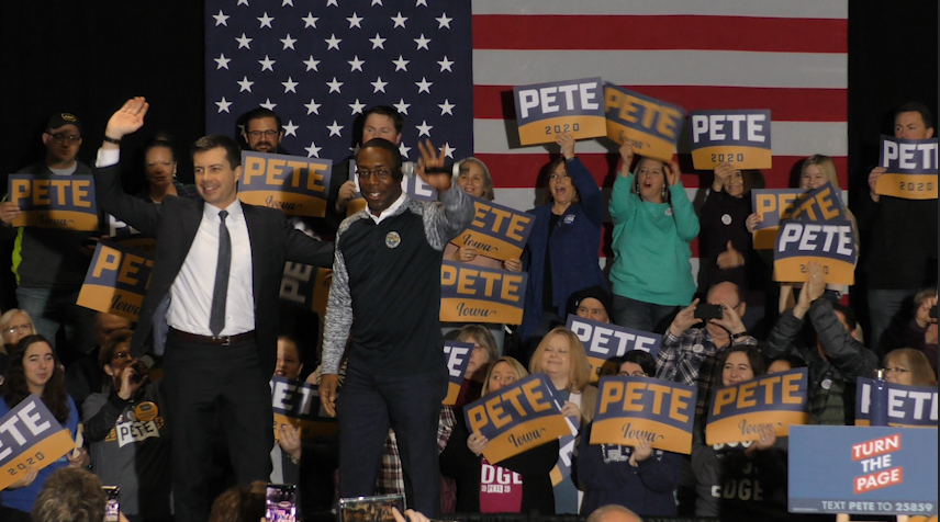 Pete Buttigieg shines in Iowa, but minority support still low