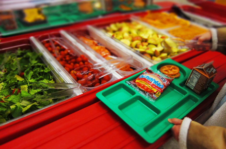 More kids to become obese as school meal standards change