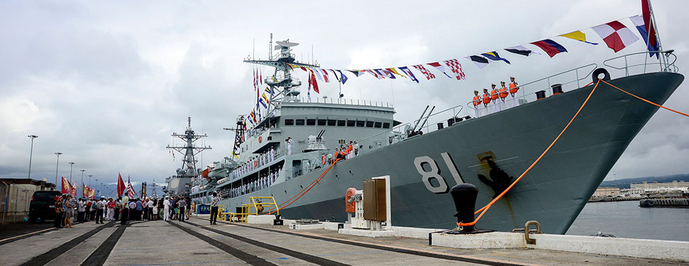 Political commissars are a mainstay of the Chinese navy