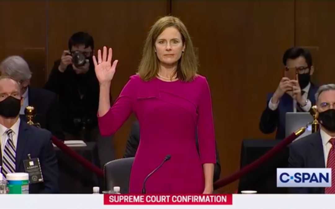 VIDEO: Day one of confirmation hearings for Judge Amy Coney Barrett