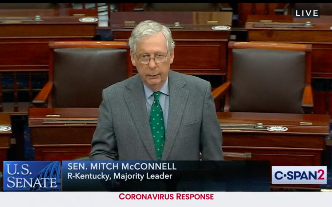 Senate Democrats Block Vote on $500 billion COVID-19 Relief Bill