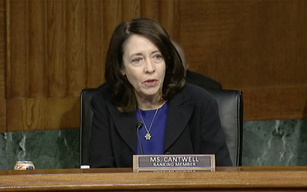 Washington Sen. Maria Cantwell first woman to lead Senate Commerce, Science and Transportation Committee