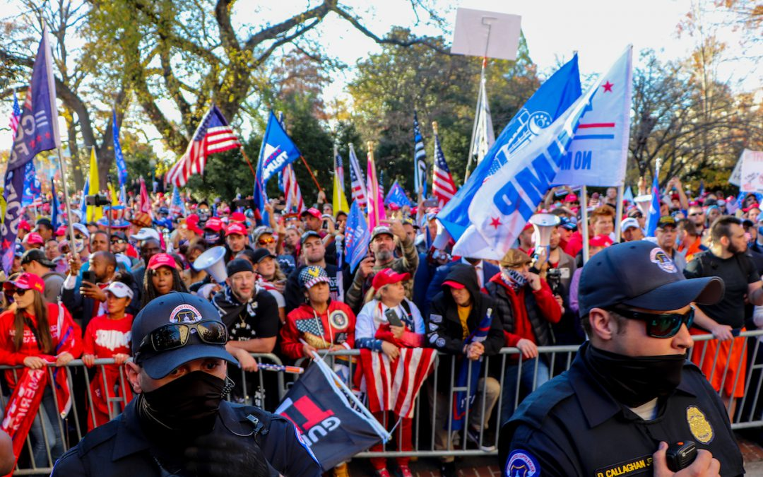 "Who were some of the attendees at Saturday's ""Million MAGA March?"""