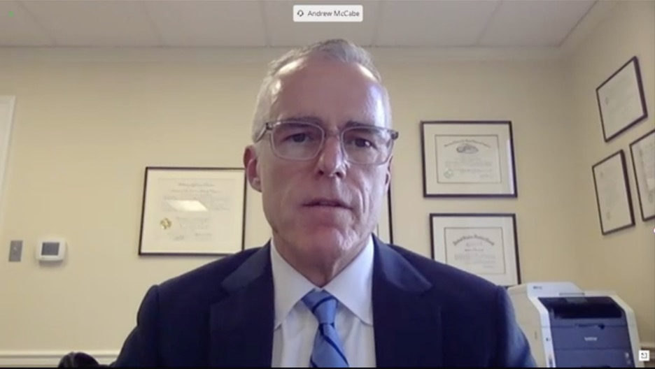 McCabe denies any wrongdoing during hearing on Crossfire Hurricane