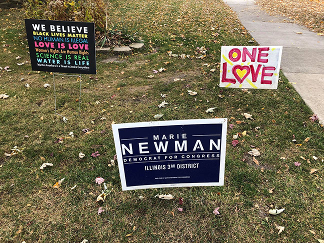 Illinois' third district elects first woman U.S. representative: Marie Newman