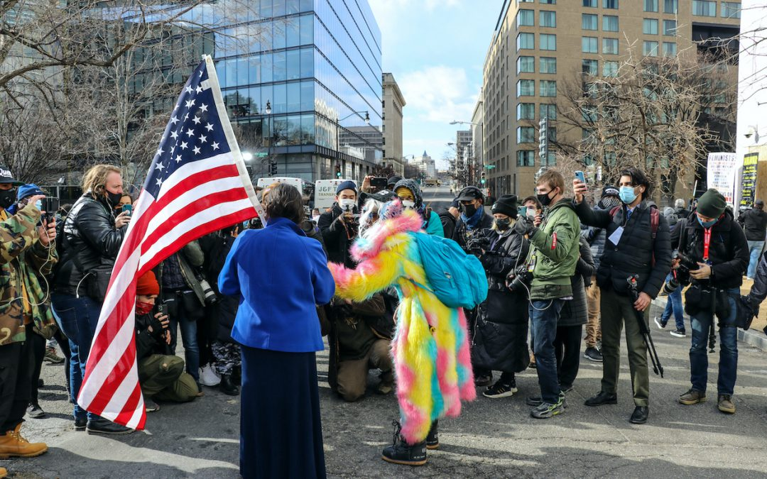 Washington transformed: Soldiers dominate the streets leading up to Biden-Harris inauguration