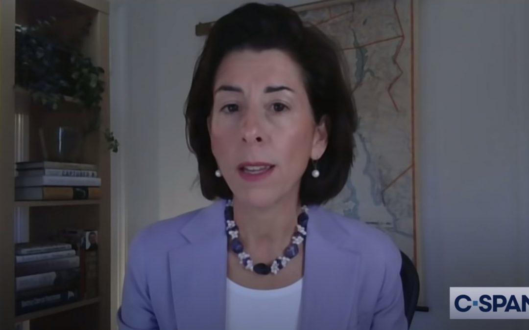 Commerce nominee Gina Raimondo addresses salmon, threats from China at Senate hearing