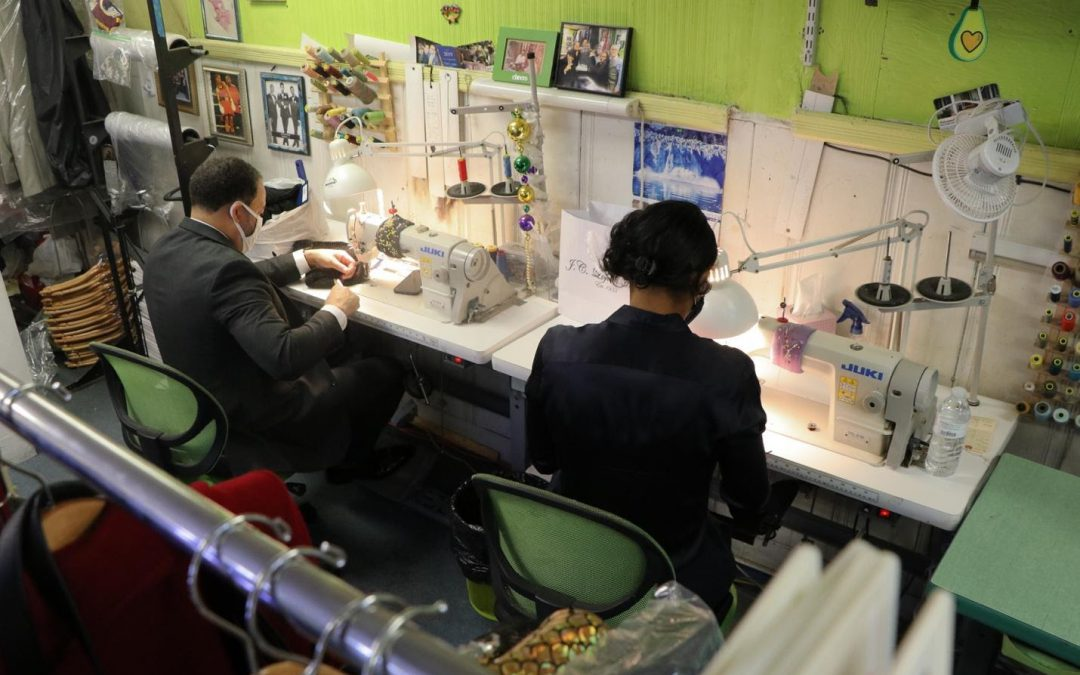 JC Lofton Tailors celebrates nearly 82 years of business after receiving Wells Fargo grant