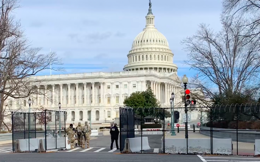 VIDEO: Another Potential Plot to Breach the Capitol Brings Increased Security