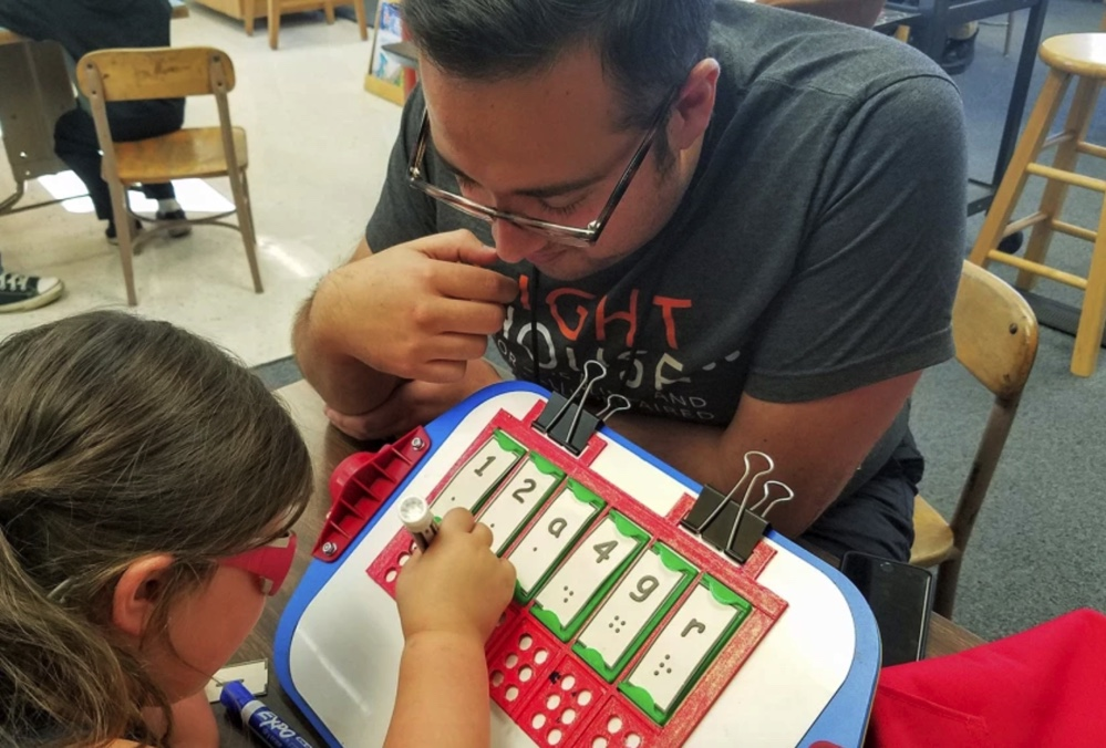 The Challenge of Teaching Students With Visual Disabilities From Afar