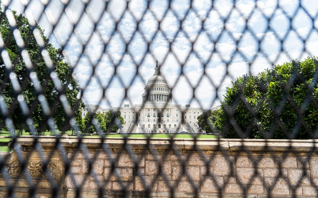 Capitol fencing officially came down, six months after Capitol attack