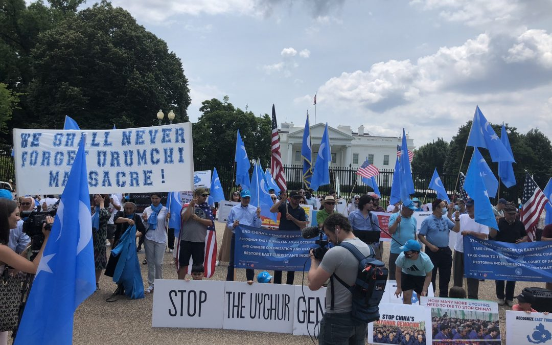 Washington's Uyghur Community Commemorates Riots and Calls for Action