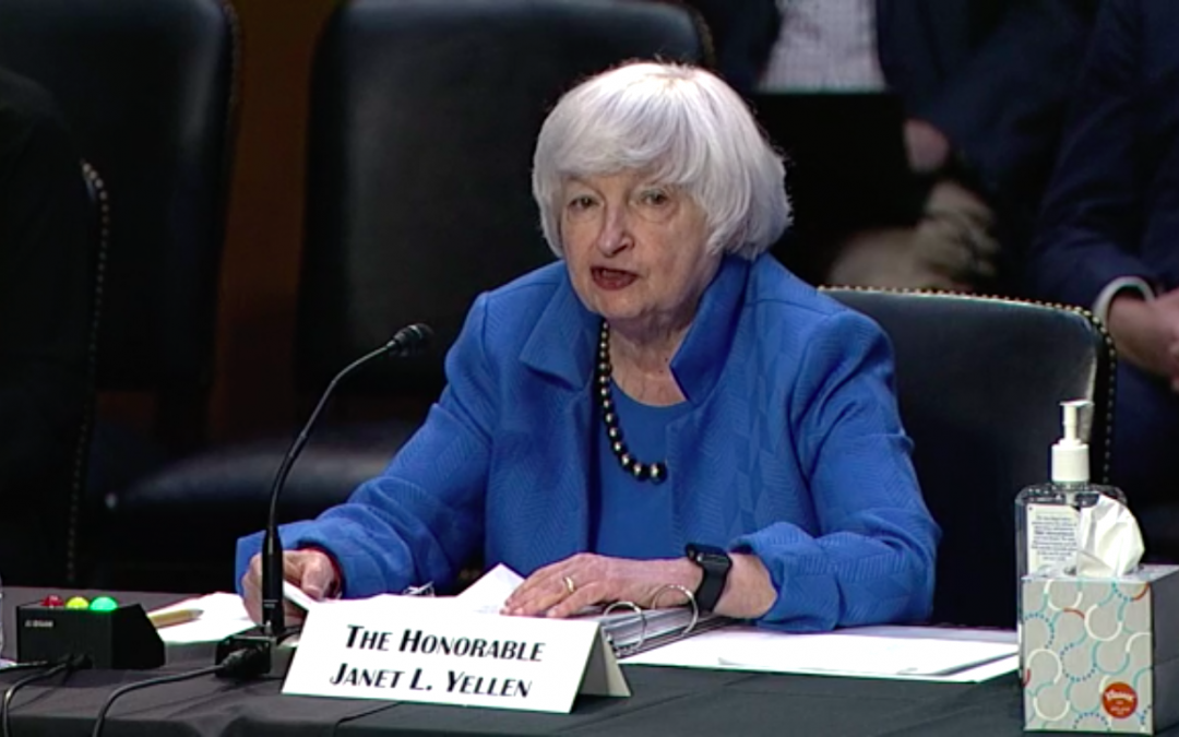 Yellen Calls on Congress to Raise Debt Limit, Warns of 'Disastrous' Consequences